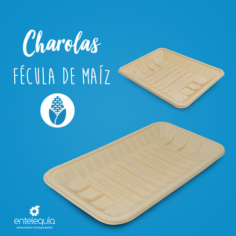 Charolas Biodegradables