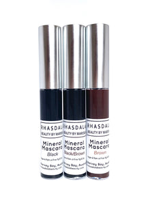 Mineral Mascara Palm oil free & Vegan