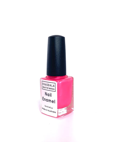 7 Free -12ml Nail Polish - Jelly Bean - Hot Pink