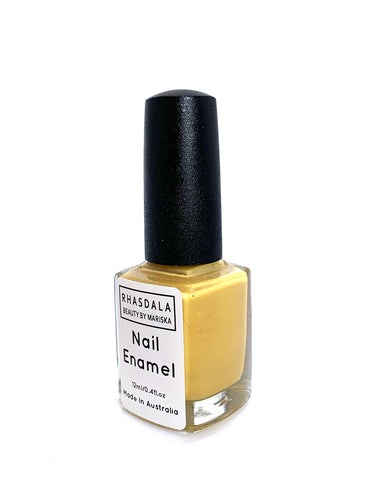 7 Free -12ml Nail Polish - Tropicana - Bright Yellow