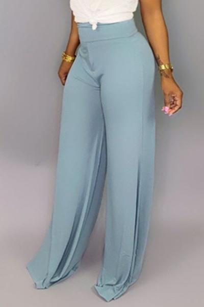 Pure Color Loose Pants