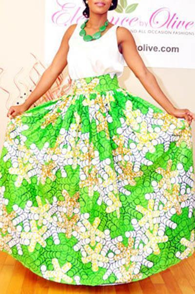 Fashion Digital Printed Beach Holiday Skirt