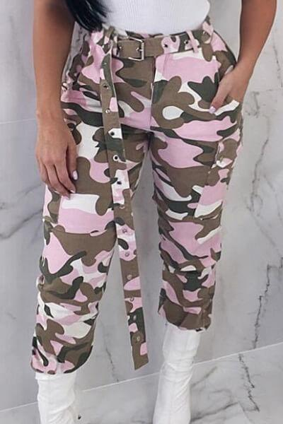 High-Waist-Pocket-Camouflage-Pants-With-Belt