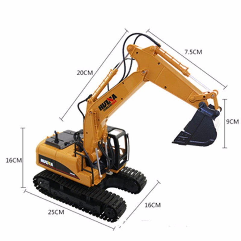 Ihrtrade 1/12 RC METAL EXCAVATOR,Colored Contact Lenses