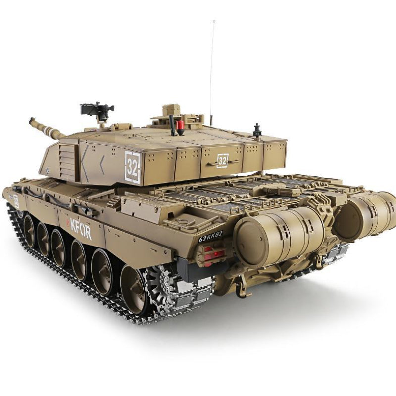 Heng Long British Challenger II RC Tank 3908 2.4G 1:16 RC Battle Tank -RTR