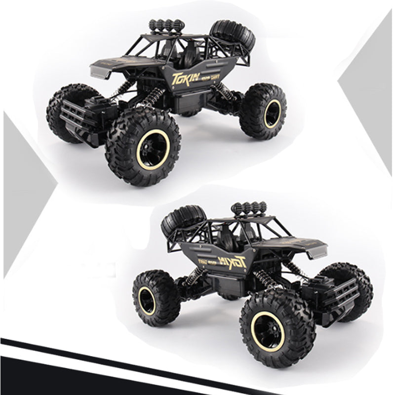 2 Pack, 1/12 RC Rock Crawler Combo 2.4G 4WD Off-Road Bigfoot Crawler RC Car