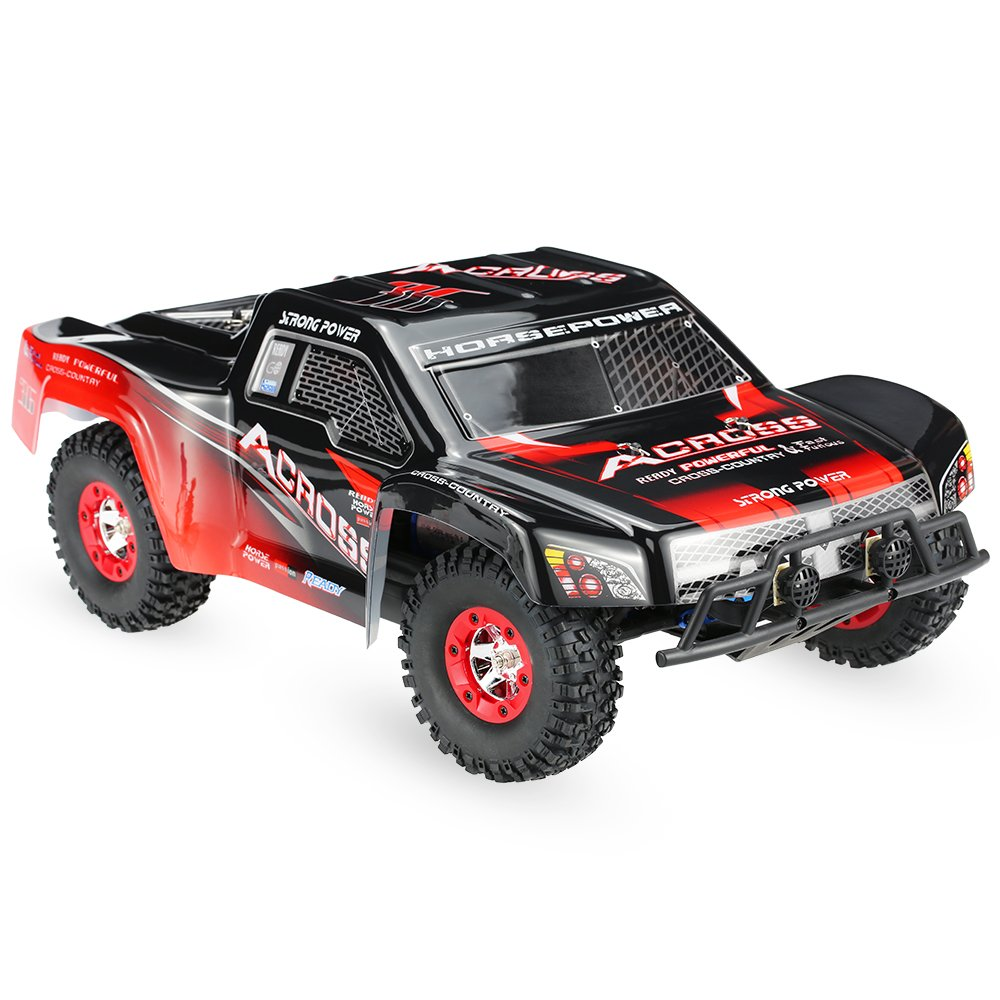 Wltoys 12423 1/12 RC Short Course RTR 2.4G 4WD Brushed RC Trophy Truck