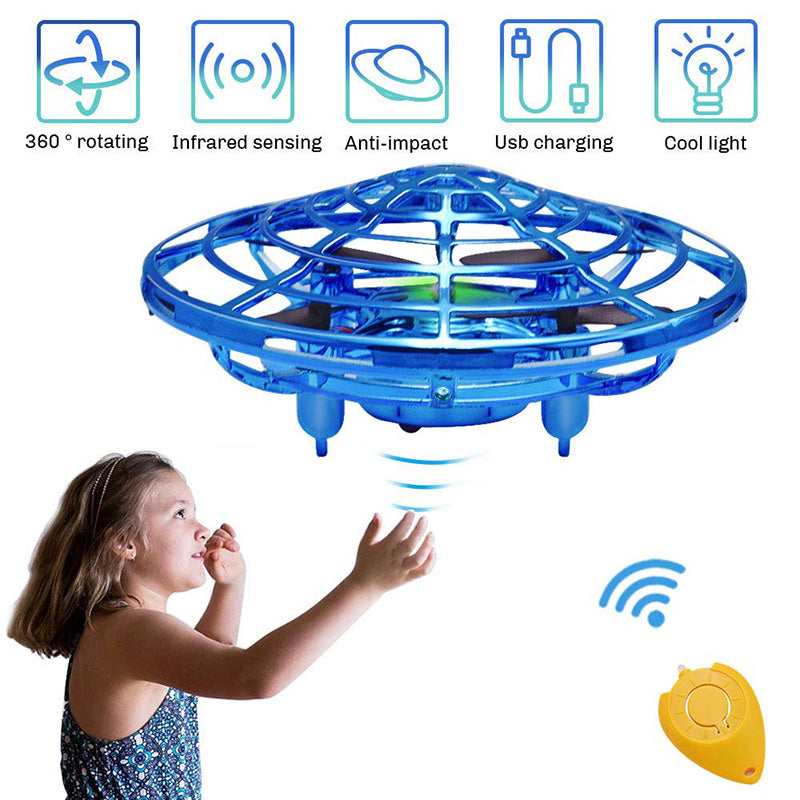 UFO Mini RC Drone Hand Free Induction Quad