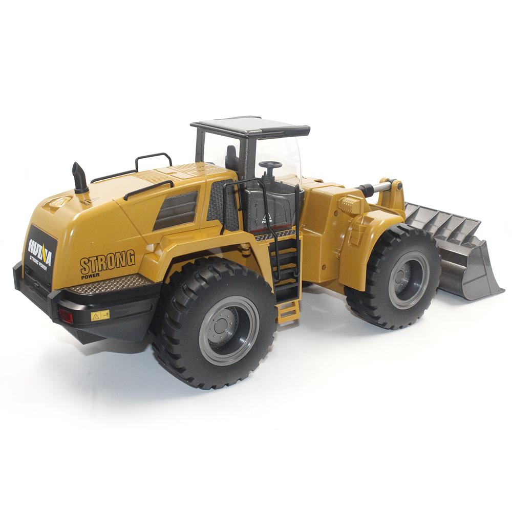 HuiNa 583 Wheel Loader RC Bulldozer Metal