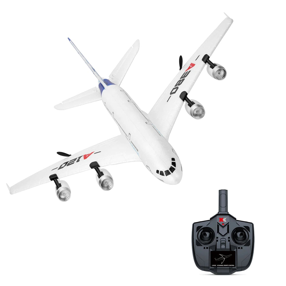 WLTOYS Airbus A120-A380 RC Airplane 2.4G 3CH Fixed Wing Aeromodelling