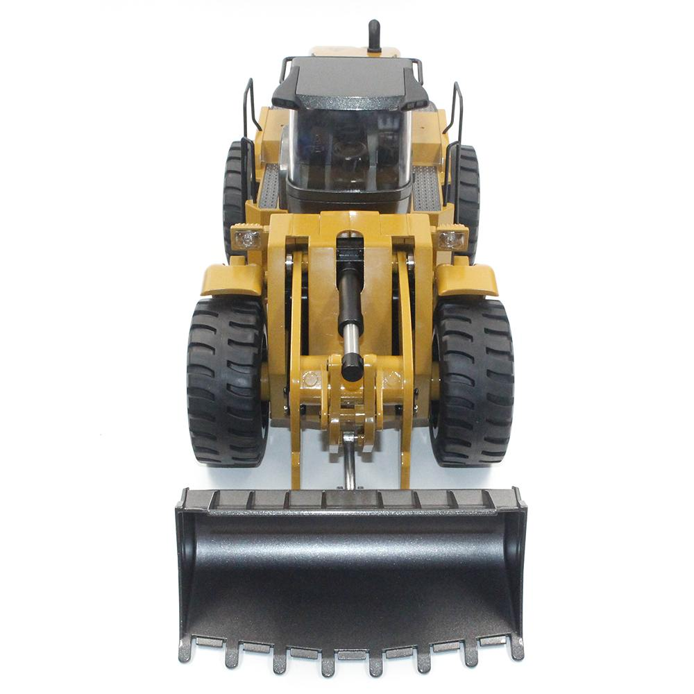 HuiNa 583 Wheel Loader RC Bulldozer Metal 2.4G 10CH 1:14 RC Front Loader