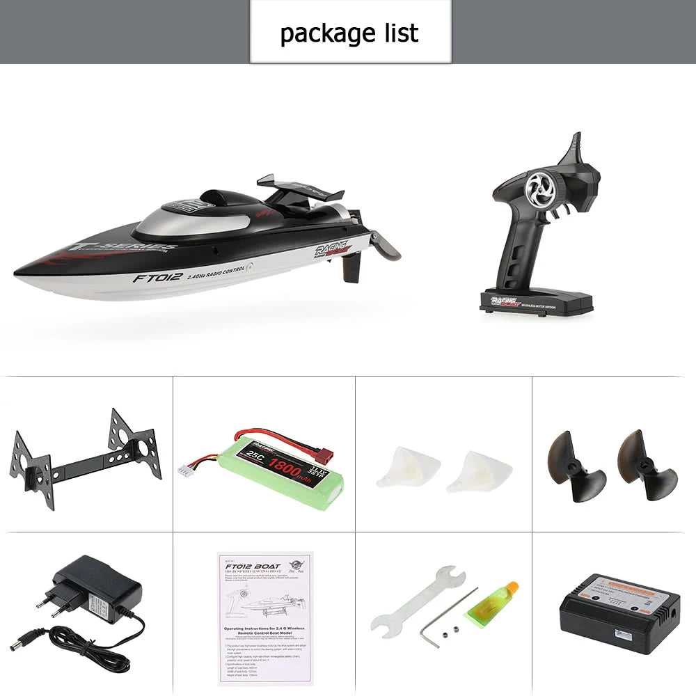 FT012 Brushless RC Racing Boat High Speed Racing Boat