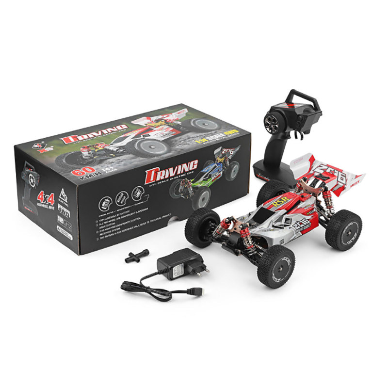 Wltoys 144001 RC Car 1/14 2.4G 4WD Racing 60km/h RC Buggy RTR