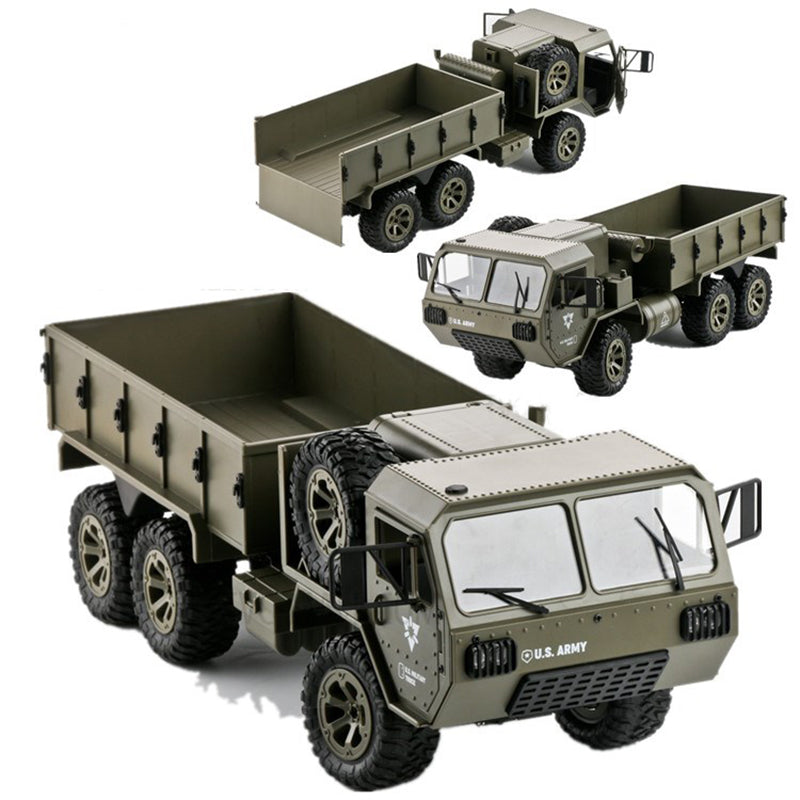 RC Military Truck 1:16 6WD 2.4G All-Terrain Off Road RC Army Truck