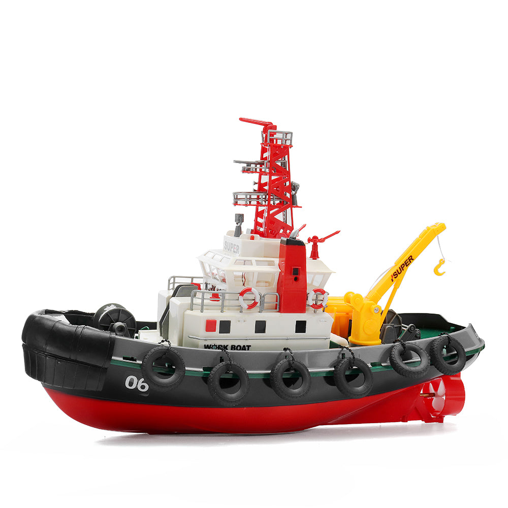 Henglong 3810 2.4G RC Work Boat With Water Cooling System RTR