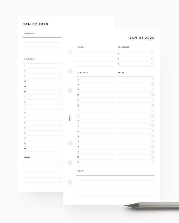 MN004D - 2020 Daily Planner