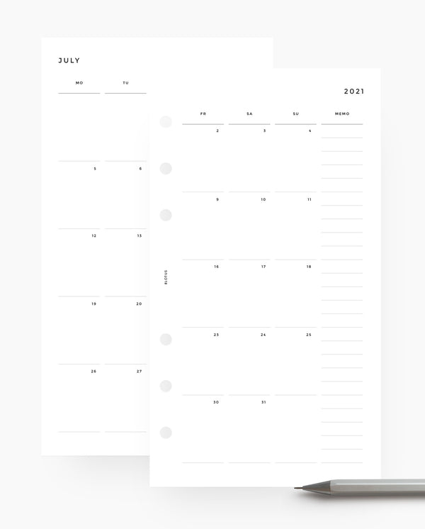 MN016 - 2021 - 2022 Monthly Planner (MO4P)