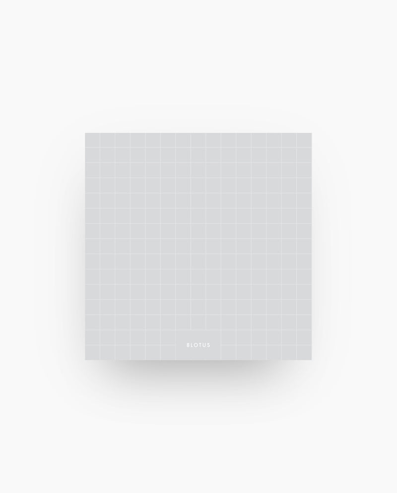 Grids - Gray Sticky Notes