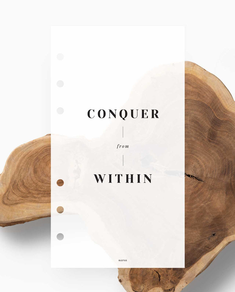 Conquer from Within - Dashboard