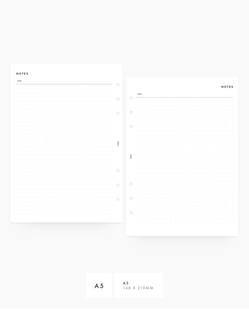 MN013 - Dot Grid Notes