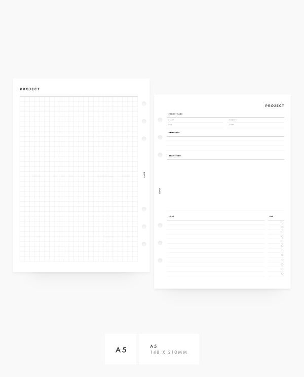 Project Planner - PDF