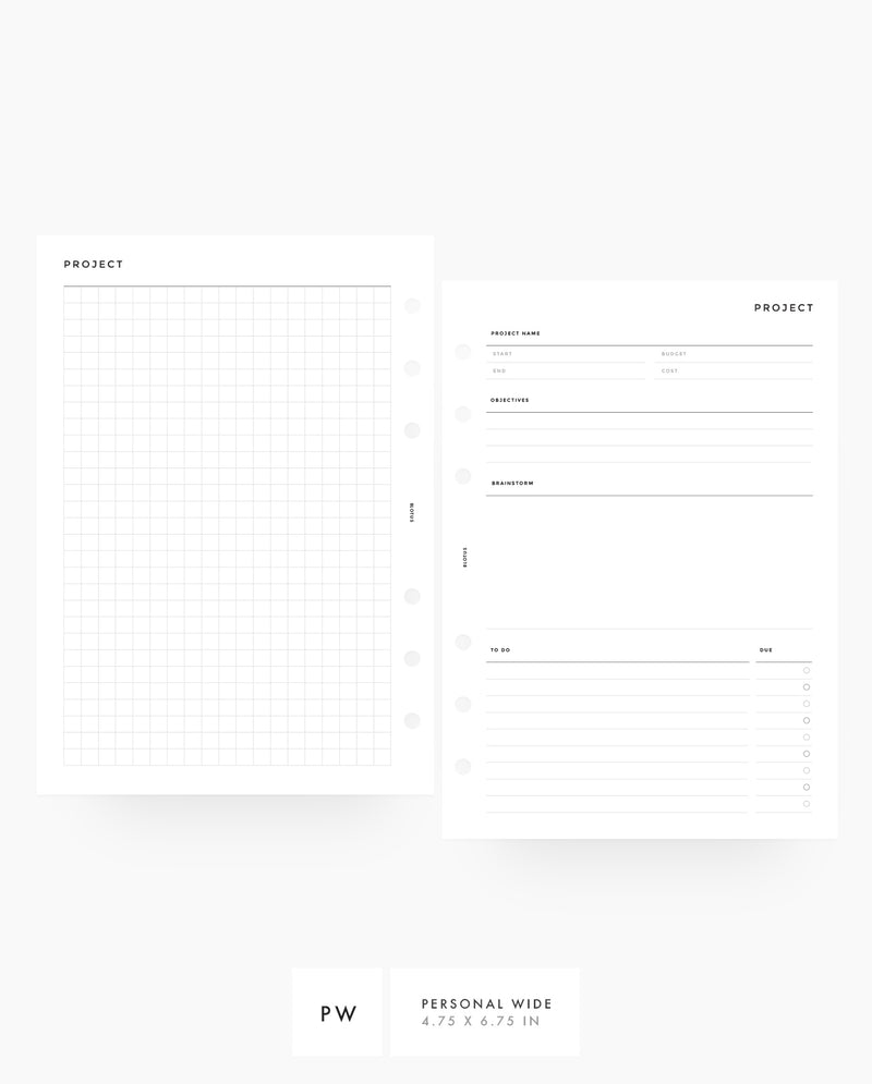MN020 - Project Planner - PDF