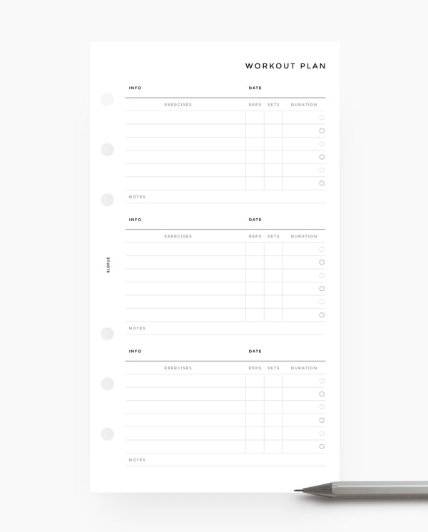 MN031 - Workout Planner