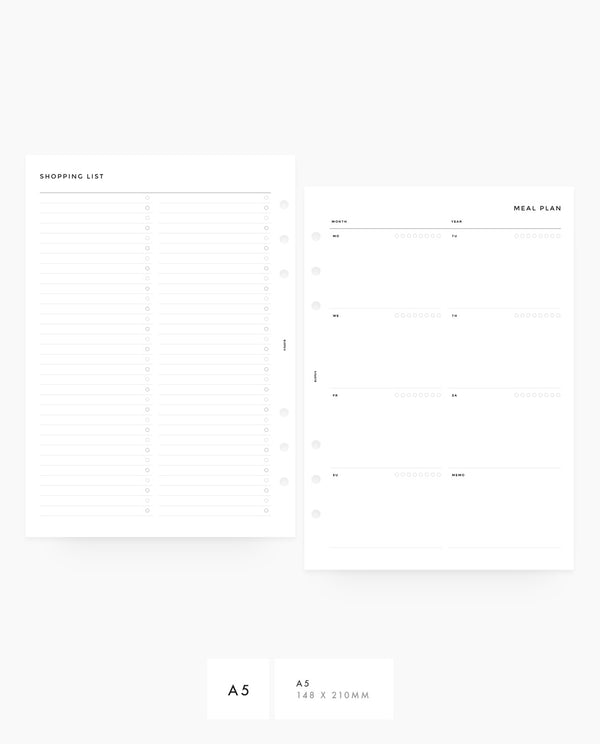 MN037 - Meal Planner