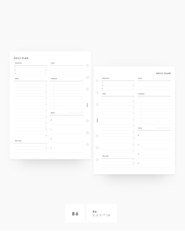 Daily Planner - PDF