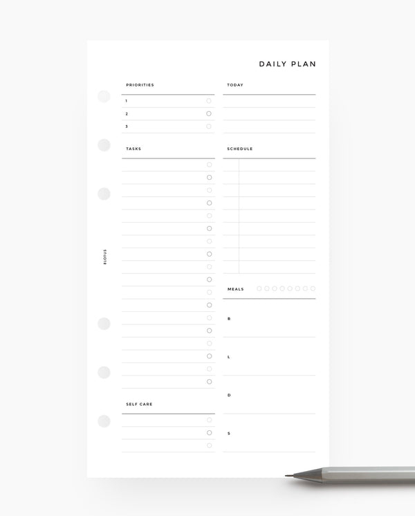 MN040 - Daily Planner
