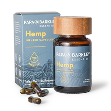 Load image into Gallery viewer, Papa and Barkley Essentials Hemp Infused Capsules