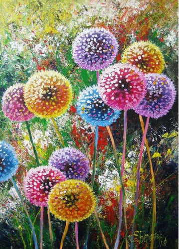 DANDELION - DIAMOND PAINTING KIT