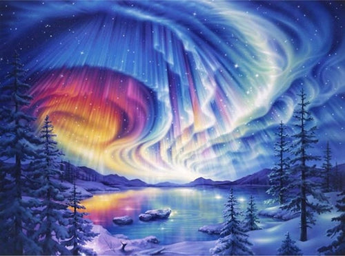 BEAUTIFUL AURORA - DIAMOND PAINTING KIT