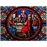 CATHEDRAL LAST SUPPER - DIAMOND PAINTING KIT