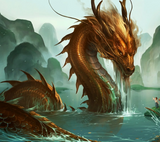 WATER DRAGON - DIAMOND PAINTING KIT