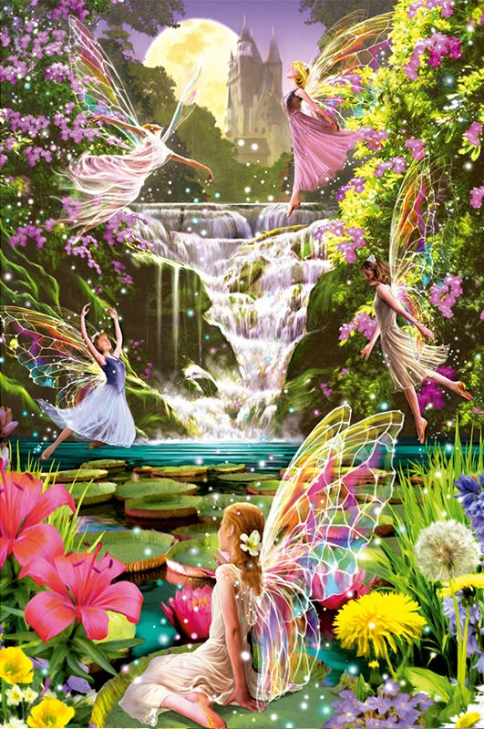 FAIRY LAND - DIAMOND PAINTING KIT