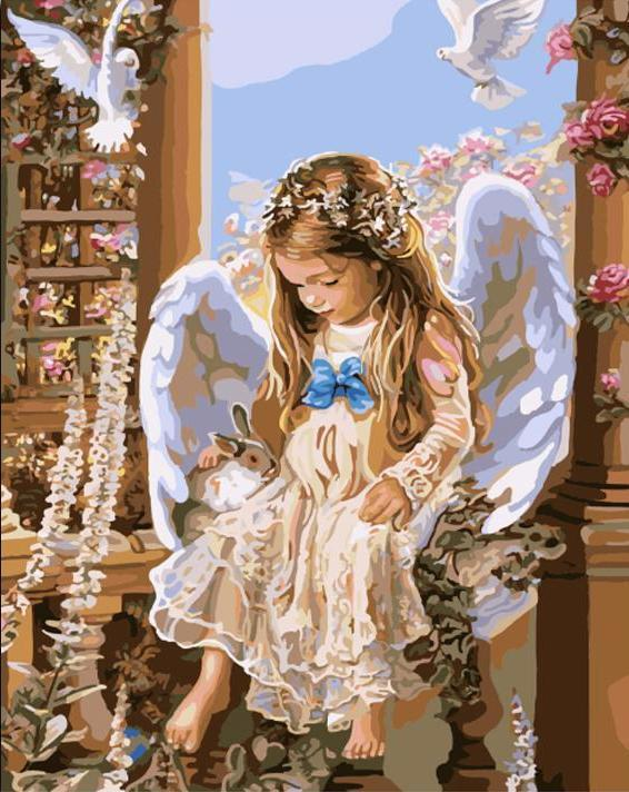 LITTLE ANGEL - DIY PAINT BY NUMBERS KIT