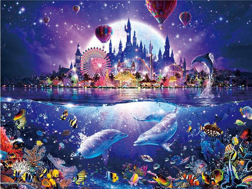 MAGICAL SEA WORLD - DIAMOND PAINTING KIT