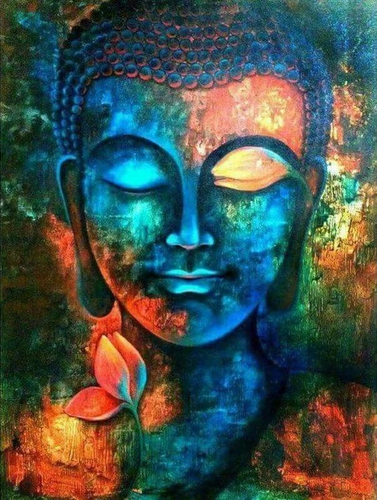 RESTING BUDDHA - DIAMOND PAINTING KIT