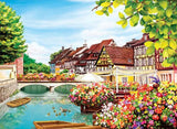 SCENIC TOWN - DIAMOND PAINTING KIT
