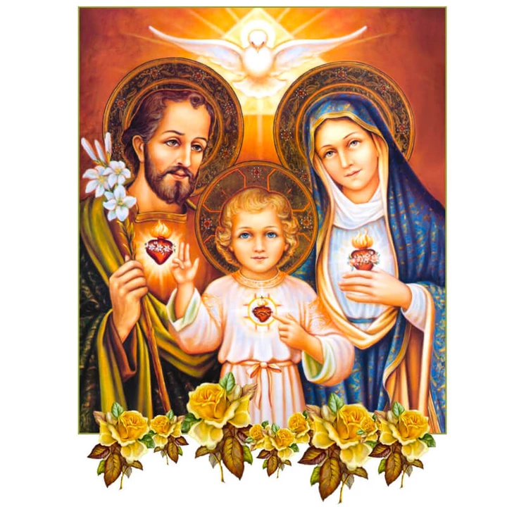 THE HOLY FAMILY - DIAMOND PAINTING KIT