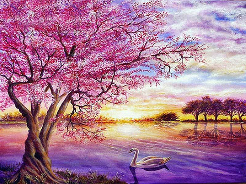 LOVERS LAKE - DIAMOND PAINTING KIT