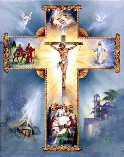HOLY CROSS - DIAMOND PAINTING KIT