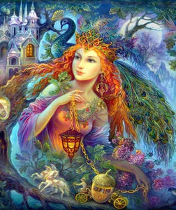 FAIRY OF THE FOREST - DIAMOND PAINTING KIT