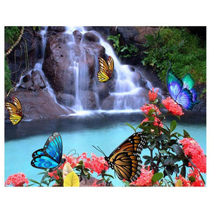 BUTTERFLY OASIS - DIAMOND PAINTING KIT