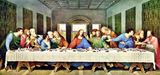 LAST SUPPER - DIY PAINT BY NUMBERS KIT (50x100cm)