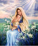 MOTHER AND CHILD - DIAMOND PAINTING KIT