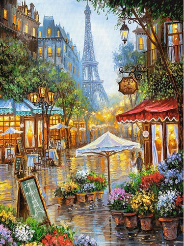 PARIS IN SPRING - DIAMOND PAINTING KIT