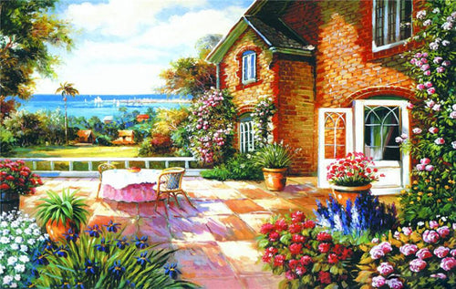 COUNTRY SEASIDE - DIAMOND PAINTING KIT