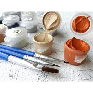 AFTERNOON TEA - DIY PAINT BY NUMBERS KIT